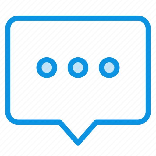 bubble, message, talk icon