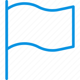 country, flag, mark icon