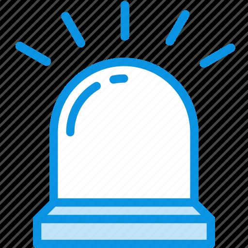 alarm, flasher, light icon