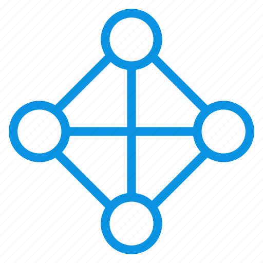 full, hierarchy, topology icon
