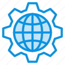 connection, earth, globe, internet, network, rule, web icon