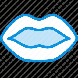 anatomy, biology, lips, medicine, mouth icon