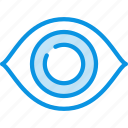 anatomy, eye, view icon