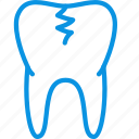 caries, medical, tooth icon