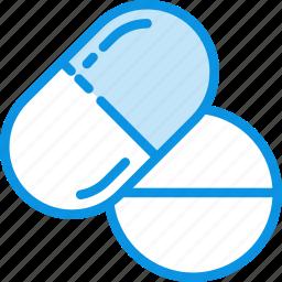 medicine, pills, tablets icon