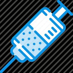 drug, injection, injector, medicine, prick, syringe icon