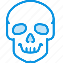 anatomy, poison, skull icon
