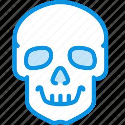 danger, death, high, jolly, poison, skull, voltage icon
