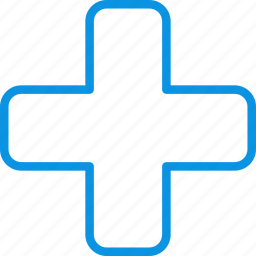 apothecary, chest, cross, drugstore, medicine, pharmacy icon