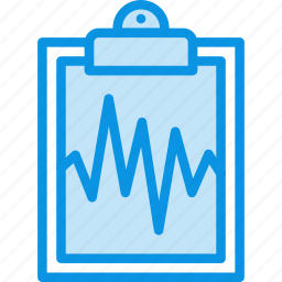 analysis, cardiogram, medicine, result, tablet icon
