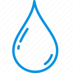blood, drop, water icon