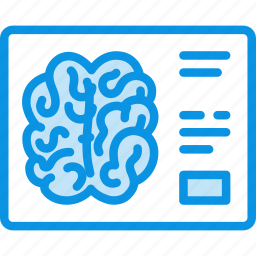 brain, tomography, xray icon
