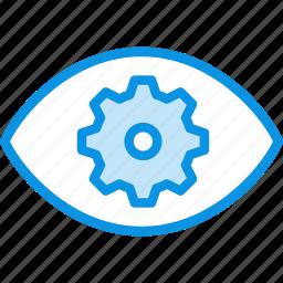 correction, eye, laser, surgery, vision icon