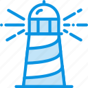 lighthouse, navigation icon