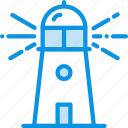 guide, lighthouse icon