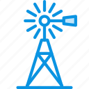 farm, mill, wind icon