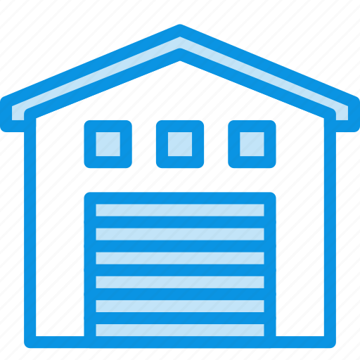 building, depot, storage, storehouse, warehouse icon