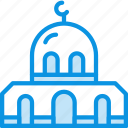 building, holy, mosque, muslim, palace, religion icon