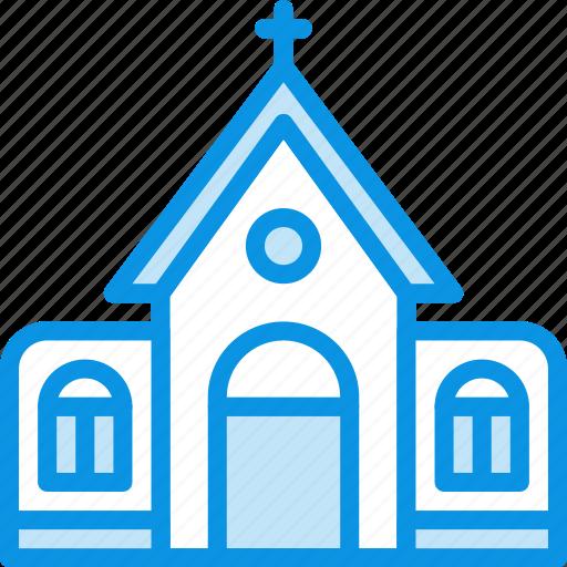 building, catholic, church icon