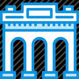 arc, building icon