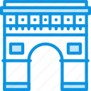 arc, building icon
