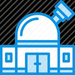 building, observatory, planetarium icon