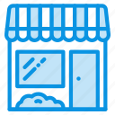 barbershop, building, shop, store icon
