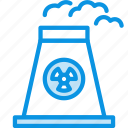 atomic, energy, plant icon
