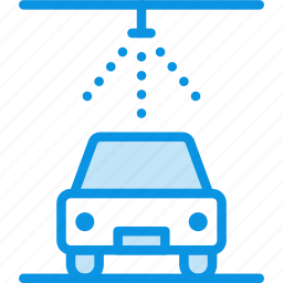 auto, car, cleaning, service, wash icon