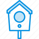 bird, birdhouse, box icon