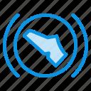 brake, pedal, press icon