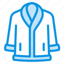 clothes, coat, sheepskin icon