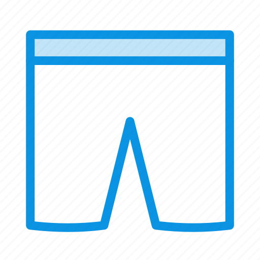 boxers, drawers, underpants, underwear icon