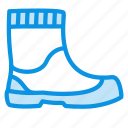 boots, rubber, footwear icon