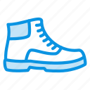 boots, footwear, shoes, winter icon