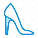 shoes, woman, high heels icon