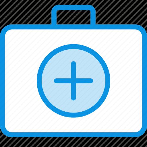 aid, briefcase, first, health, medicine, suitcase icon