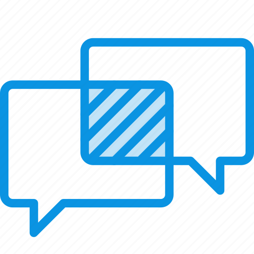 chat, intersection, talk icon