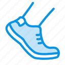 allowed, foot, shoe, walk icon