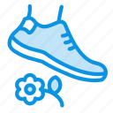 grass, lawn, prohibited, walk icon