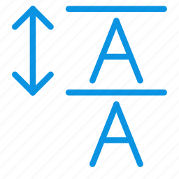 font, leading, paragraph, text icon