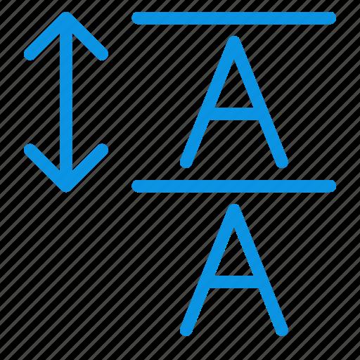 font, leading icon