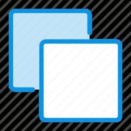 back, backwar, clone, copy, layers icon