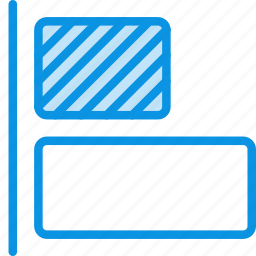 align, horizontal, left, objects, tool icon
