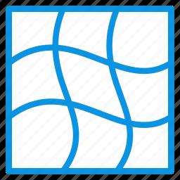 distort, gradient, grid, mesh, tool, warp icon