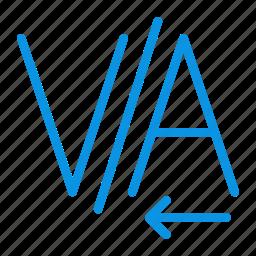 kerning, text icon