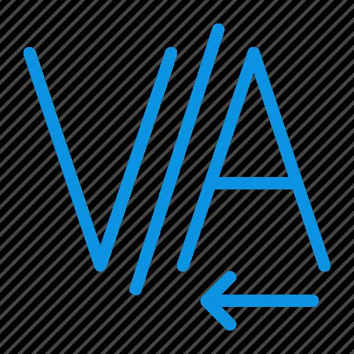 design, editing, kerning, text icon