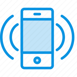 iphone, mobile, phone, ringtone, smartphone, sound, vibrate icon