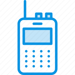 communication, connection, device, radio, set, talkie, walkie icon