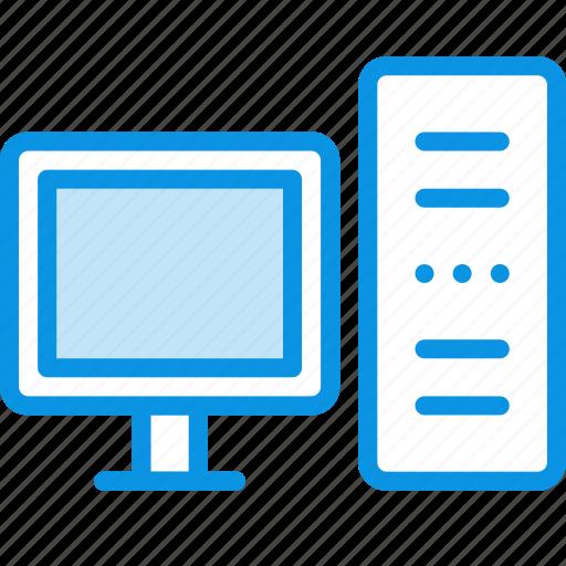 desktop, monitor, server icon